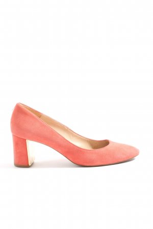 Massimo Dutti Hochfront-Pumps pink Casual-Look