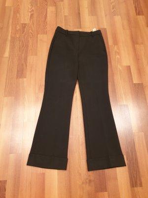 Massimo Dutti Jersey Pants black