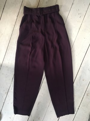 Massimo Dutti Pleated Trousers multicolored