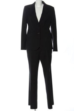 Massimo Dutti Traje de pantalón negro look casual