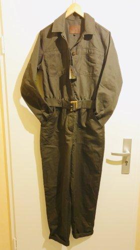 Massimo Dutti Khaki Jumpsuit im Wert von (99€)