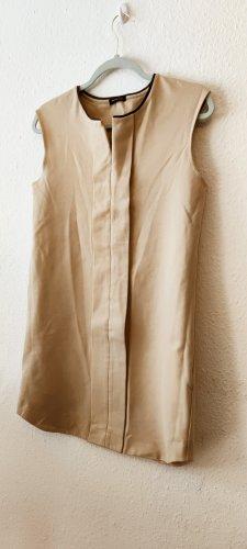 Massimo Dutti Robe trapèze beige