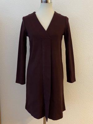 Massimo Dutti Kleid Übergang Langarm Herbst Winter Bürokleid 36 S