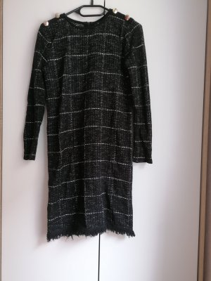 Massimo Dutti Sweat Dress black-white