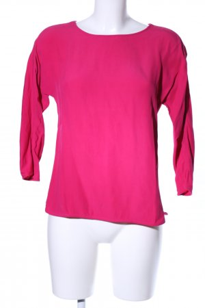 Massimo Dutti Langarm-Bluse pink Casual-Look