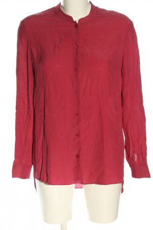 Massimo Dutti Langarm-Bluse rot Casual-Look