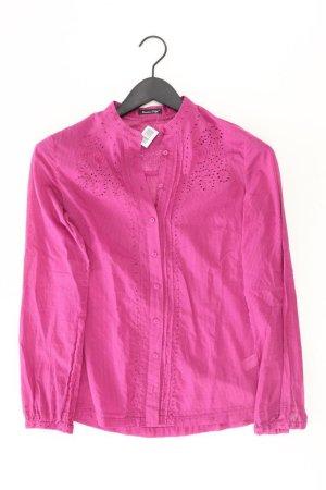 Massimo Dutti Langarmbluse Größe 36 pink aus Baumwolle