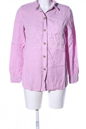 Massimo Dutti Langarmhemd pink Casual-Look