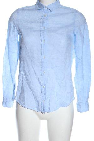 Massimo Dutti Chemise à manches longues bleu style d'affaires
