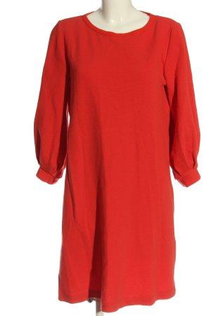 Massimo Dutti Sukienka z długim rękawem czerwony W stylu casual
