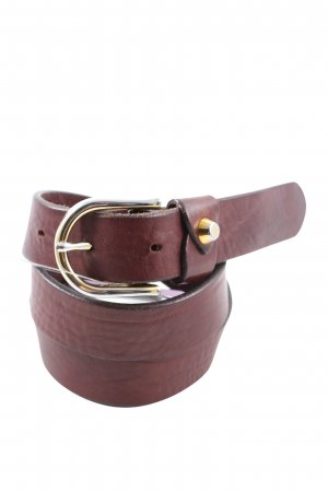 Massimo Dutti Leather Belt brown casual look