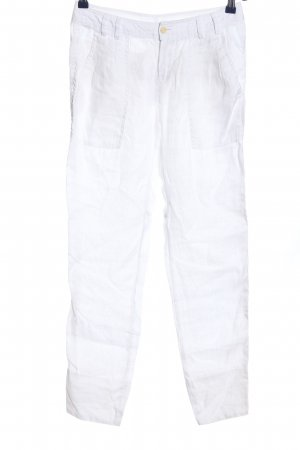Massimo Dutti Linen Pants white casual look
