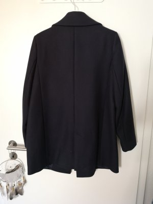 Massimo Dutti Coat Dress dark blue
