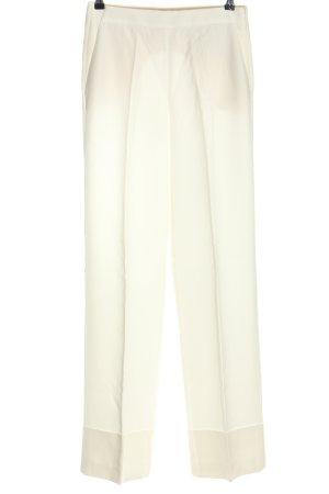 Massimo Dutti Spodnie Marlena biały W stylu casual