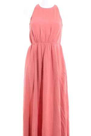 Massimo Dutti Maxikleid pink Casual-Look