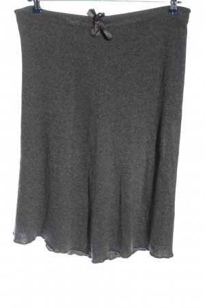 Massimo Dutti Knitted Skirt light grey casual look