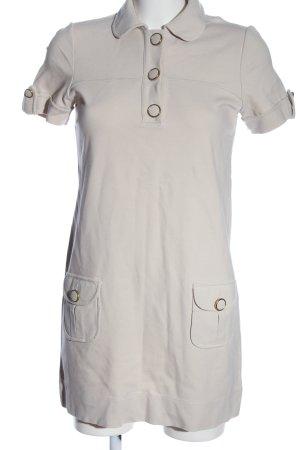 Massimo Dutti Minikleid wollweiß Casual-Look