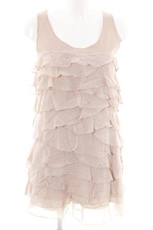 Massimo Dutti Minikleid creme Elegant