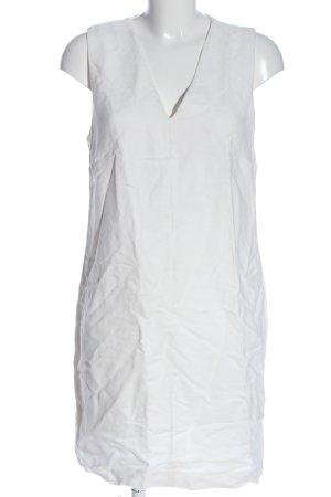 Massimo Dutti Minikleid weiß Casual-Look