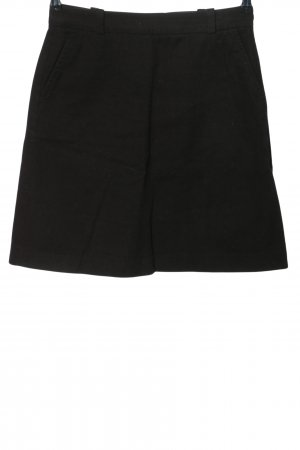 Massimo Dutti Mini rok zwart casual uitstraling