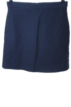 Massimo Dutti Mini rok blauw casual uitstraling