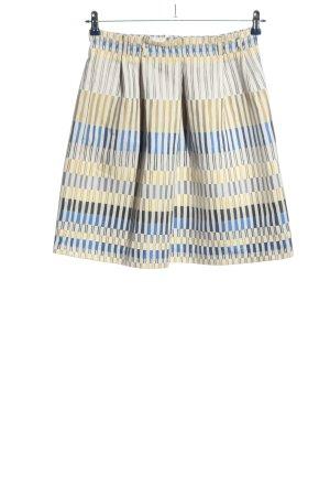 Massimo Dutti Mini rok gestreept patroon casual uitstraling