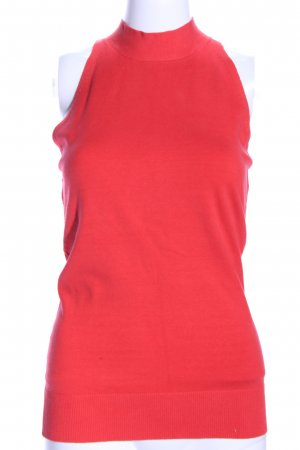 Massimo Dutti Halter Top red business style
