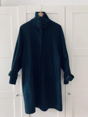 Massimo Dutti Oversized jas donkergroen