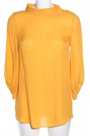 Massimo Dutti Oversized Bluse hellorange Business-Look