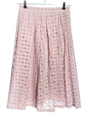 Massimo Dutti Pleated Skirt pink elegant