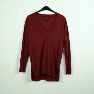 MASSIMO DUTTI Pullover Gr. S rot (21/02/008*)