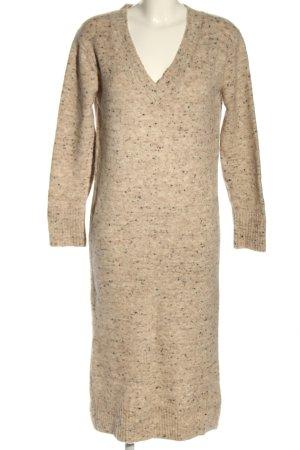 Massimo Dutti Swetrowa sukienka Na całej powierzchni W stylu casual