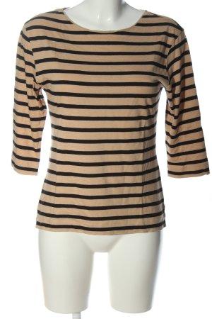 Massimo Dutti Stripe Shirt brown-black allover print casual look