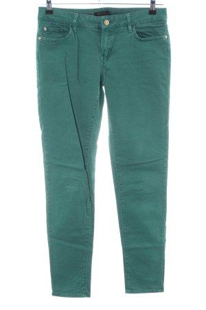 Massimo Dutti Jeans cigarette vert style décontracté