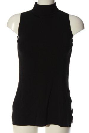 Massimo Dutti Neckholder Top black casual look