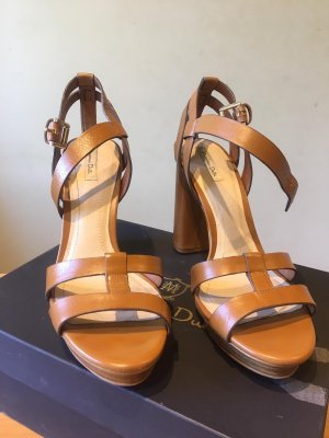 Massimo Dutti Roman Sandals brown