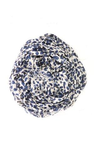Massimo Dutti Scarf blue-neon blue-dark blue-azure