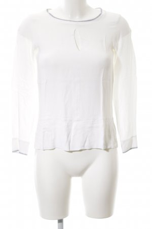 Massimo Dutti Slip-over Blouse white casual look