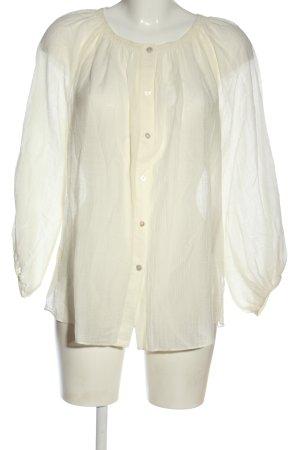 Massimo Dutti Schlupf-Bluse wollweiß Elegant