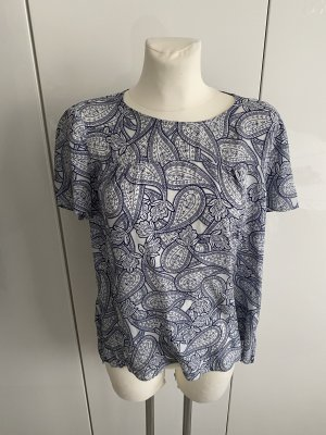 Massimo Dutti Seide paisley Shirt 40 Bluse