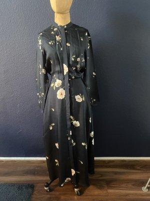 Massimo Dutti Seiden Maxi Blusen Kleid Gr. 38 top Zustand