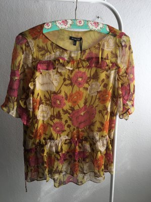 Massimo Dutti Silk Blouse multicolored