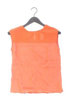 Massimo Dutti Seidenbluse orange Größe S