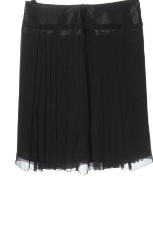 Massimo Dutti Silk Skirt black casual look