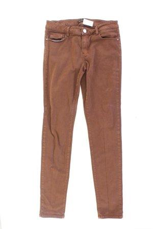 Massimo Dutti Skinny Jeans braun Größe 36