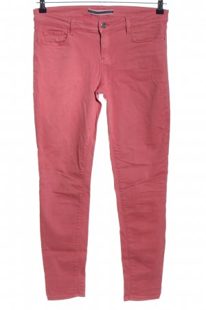 Massimo Dutti Skinny Jeans pink Casual-Look