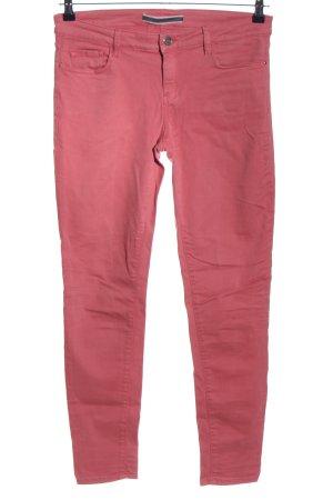 Massimo Dutti Vaquero skinny rosa look casual