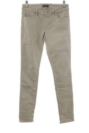 Massimo Dutti Skinny Jeans khaki Casual-Look