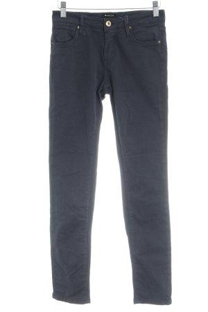 Massimo Dutti Skinny Jeans dunkelblau Casual-Look