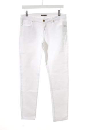 Massimo Dutti Skinny Jeans weiß Casual-Look